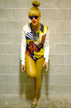 Beyonce Chic andComfy!