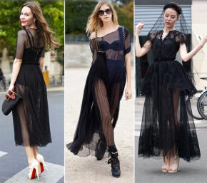 Sheer Outfits In The Summer!