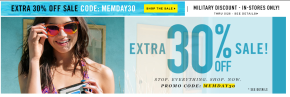 Forever21 Memorial Weekend Sale!