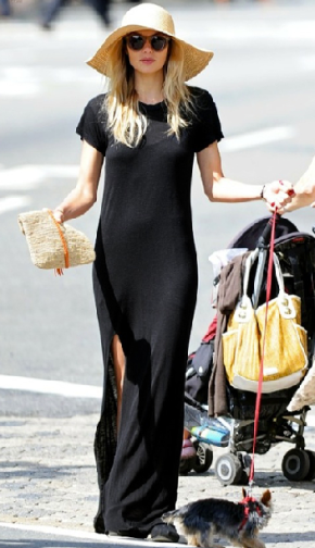 Maxi Dresses + Big Hats!