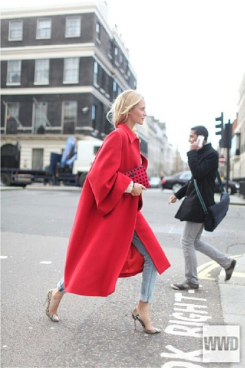 How to wear bright colours in theFall!