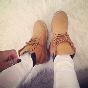 Timberlands In Fashion.