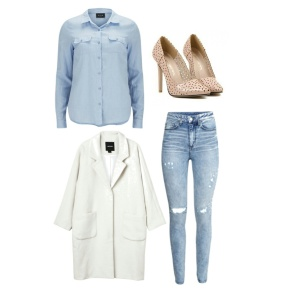 Jean Chic! Outfits Under $100!