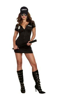 swat police costume for women 2999