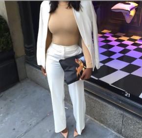 Business Chic-Nude xWhite!